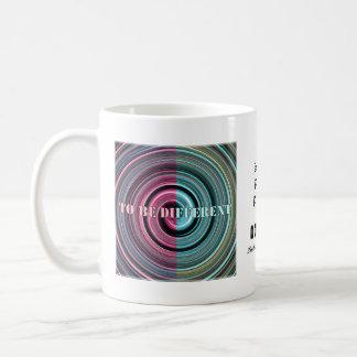 Para ser diferente tazas de café