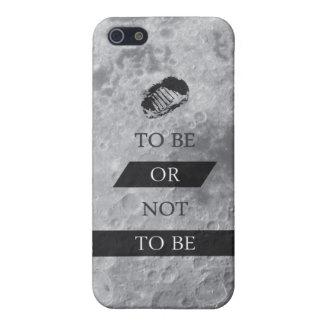 Para ser o NO SER citas de Shakespeare iPhone 5 Carcasa