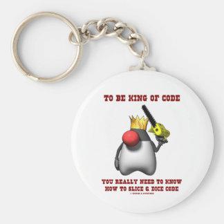 Para ser rey Of Code Really Need de saber dados de Llavero Redondo Tipo Pin