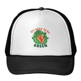 Para ser verde gorro de camionero
