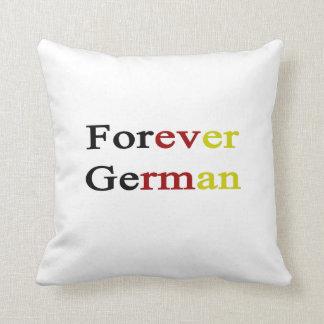 Para siempre alemán cojin