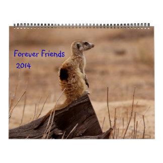 Para siempre amigos - calendario de FKMP 2014
