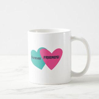 Para siempre amigos taza de café