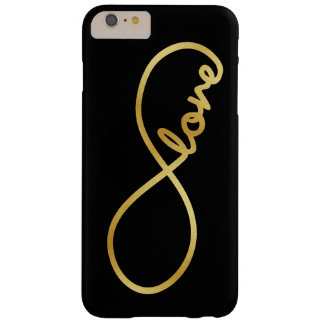 Para siempre amor - símbolo del amor del infinito funda para iPhone 6 plus barely there