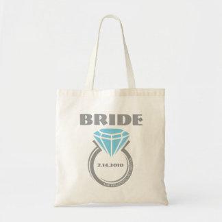 Para siempre bolso de encargo de la novia del anil bolsa