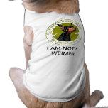 Para siempre camisa del cervatillo de Dobes Ropa Para Mascota