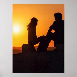 Para siempre del amor de la alegría de la amistad póster