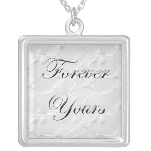 Para siempre el suyo collar