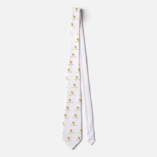 Para siempre emblema corbata personalizada