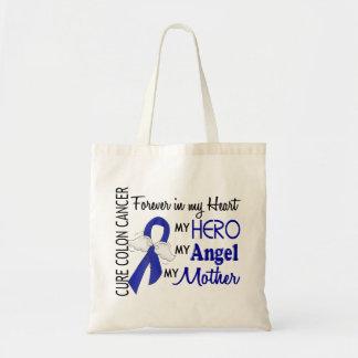Para siempre en mi cáncer de colon de la madre del bolsa tela barata