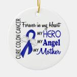 Para siempre en mi cáncer de colon de la madre del ornamento para arbol de navidad
