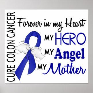 Para siempre en mi cáncer de colon de la madre del póster