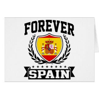 Para siempre España Tarjeta De Felicitación