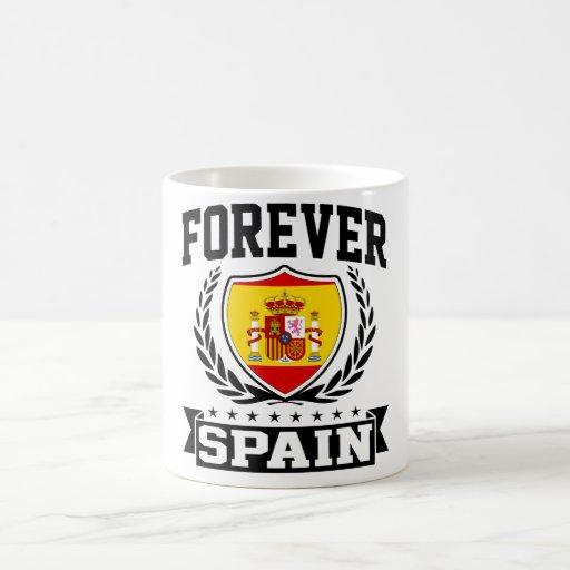 Para siempre España Tazas De Café