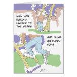 Para siempre jóvenes (con imagen interior) tarjeta de felicitación