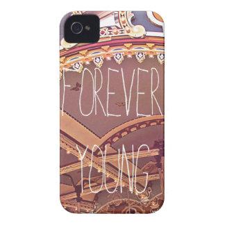 Para siempre jóvenes iPhone 4 Case-Mate fundas