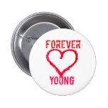 Para siempre jóvenes pin