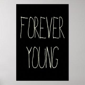 Para siempre jóvenes póster