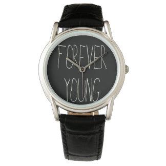 Para siempre jóvenes reloj