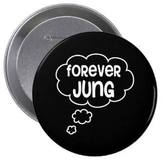 Para siempre Jung Pin Redondo De 4 Pulgadas
