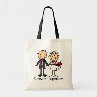 Para siempre junto camisetas y regalos bolsas