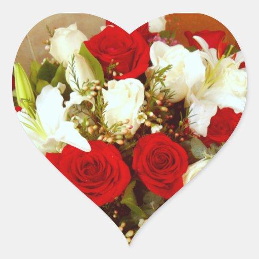 Para siempre Love_ Pegatina En Forma De Corazón