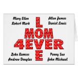 Para siempre mamá del amor felicitación