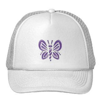 Para siempre mariposa gorras
