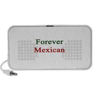 Para siempre mexicano iPod altavoces