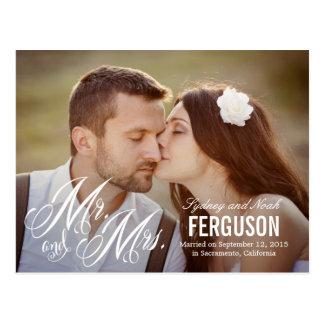 Para siempre nosotros invitación del boda - blanco postales