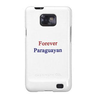 Para siempre Paraguayan Galaxy S2 Funda