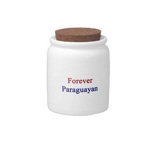 Para siempre Paraguayan Jarras Para Caramelos