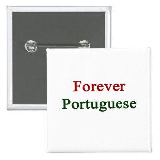 Para siempre portugués pin
