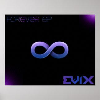 Para siempre poster #2 del EP