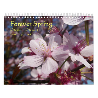 Para siempre primavera calendarios