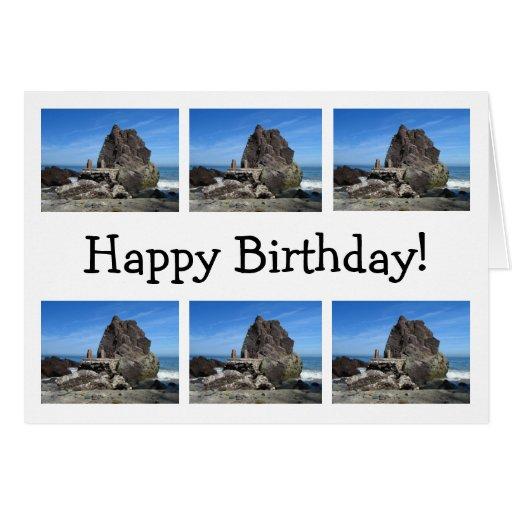 Para siempre roca; Feliz cumpleaños Tarjetas