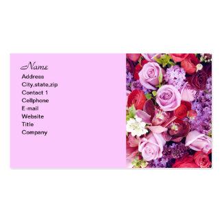Para siempre Roses_ Tarjetas De Visita