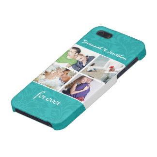 Para siempre su iPhone del damasco de las fotos de iPhone 5 Cárcasas