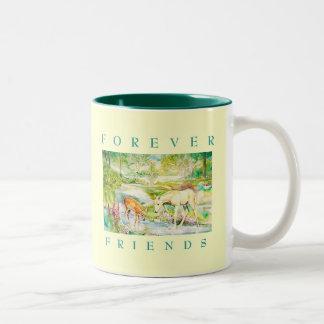 """""""Para siempre taza de los amigos"""""""