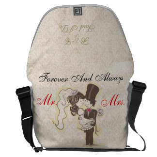 Para siempre y siempre casando el bolso bolsa de mensajeria