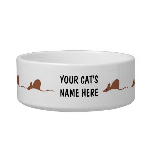 Para su colector del ratón tazón para agua para gatos