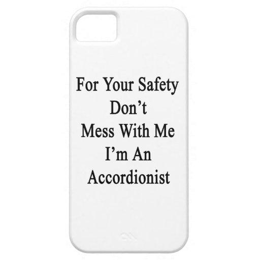Para su seguridad no ensucie conmigo que soy un iPhone 5 fundas