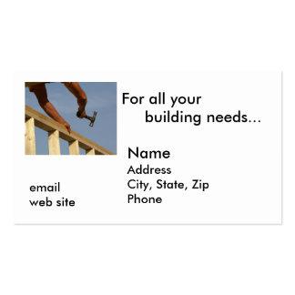 Para todo su edificio necesita… tarjetas de visita