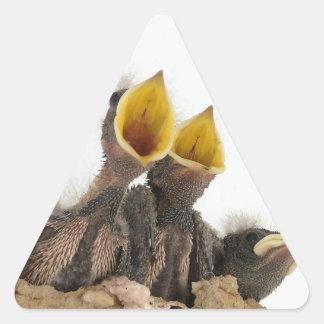 Para tragos de granero juveniles del amor de la calcomanías de triangulos