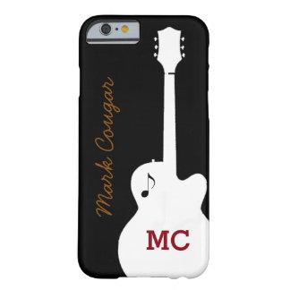 para un guitarrista de la música rock funda para iPhone 6 barely there
