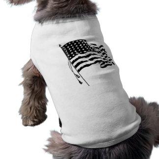 Para un patriota de los E.E.U.U.: Bandera american Playera Sin Mangas Para Perro