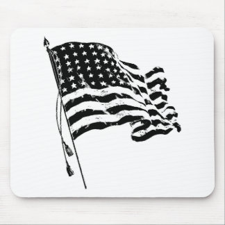 Para un patriota de los E.E.U.U.: Bandera american Alfombrilla De Raton