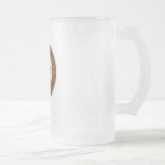 Para una buena cerveza. taza de cristal