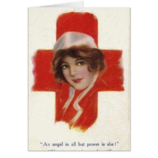 Para una enfermera especial tarjeta de felicitación