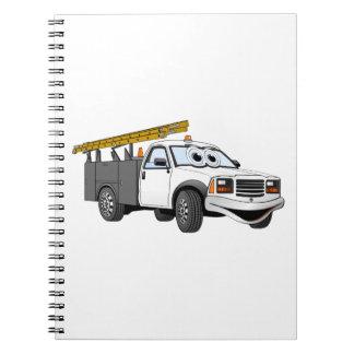 Para uso general coja el dibujo animado del blanco libro de apuntes
